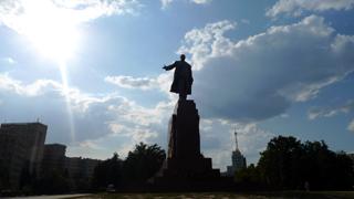 ハリコフ・レーニン像